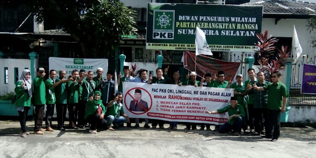 PKB OKI Versi Turmudi Protes ke DPW