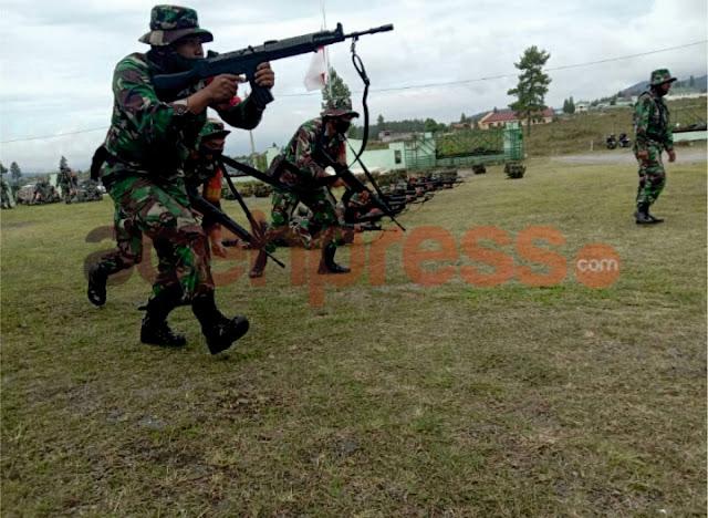 Back To Basic, Kodim 0119Bener Meriah Evaluasi Latihan Perorangan Dasar