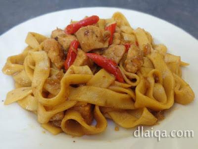 Fettuccine Ayam Lada ala Rika