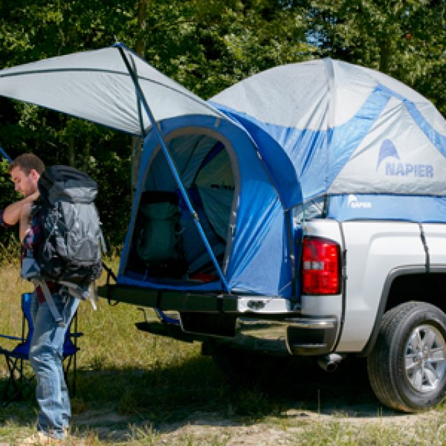 C&ing Truck Tent Sleeping In Truck Bed C&ing In GMC Sierra 2018 & Liberty Buick GMC Trucks