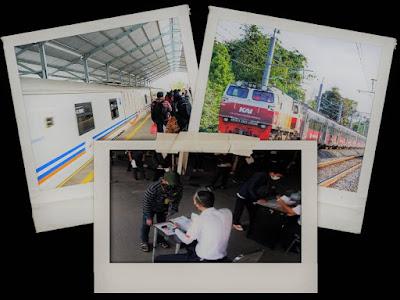 Syarat Naik Kereta di PPKM Level 4