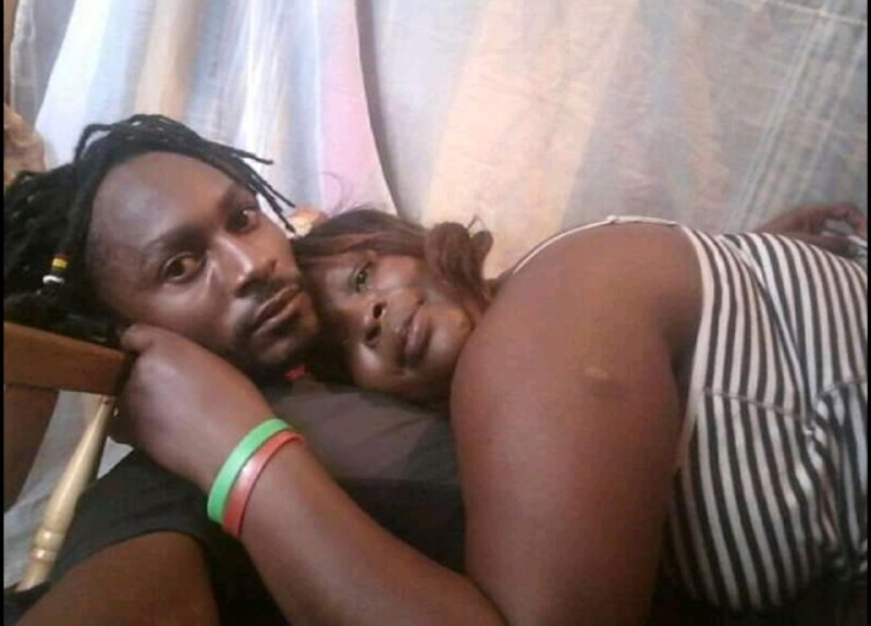 rasta%2Bbaby%2B%2B5 - Kenyan BEN 10 splashes steamy PHOTOs with his sugar-mummy- He was licking the aging woman like a lollipop.
