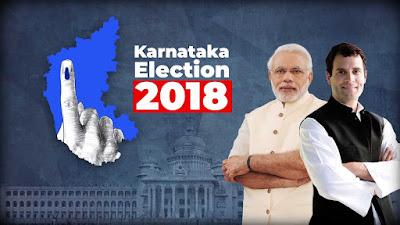 Karnataka 2018 चुनाव में  बीजेपी और कांग्रेस के लिए है बड़ी मुसीबत - Latest Indians News