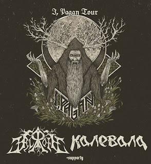 Hellroth, Kalevala, Nymphill Wrocław I Pagan Tour - relacja z koncertu