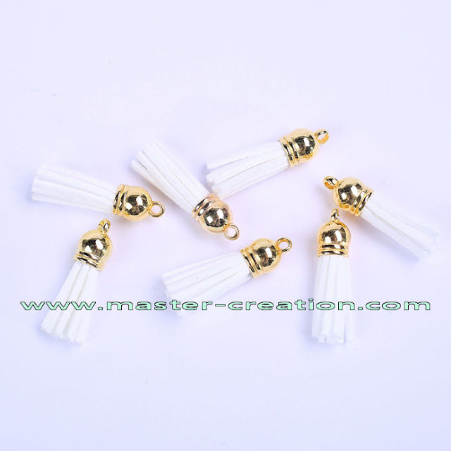 white tassels
