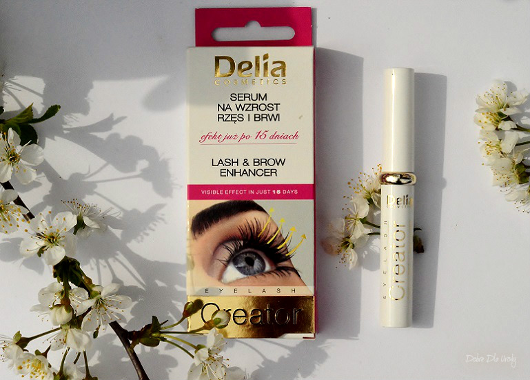 Delia Eyelash Creator Serum na wzrost rzęs i brwi