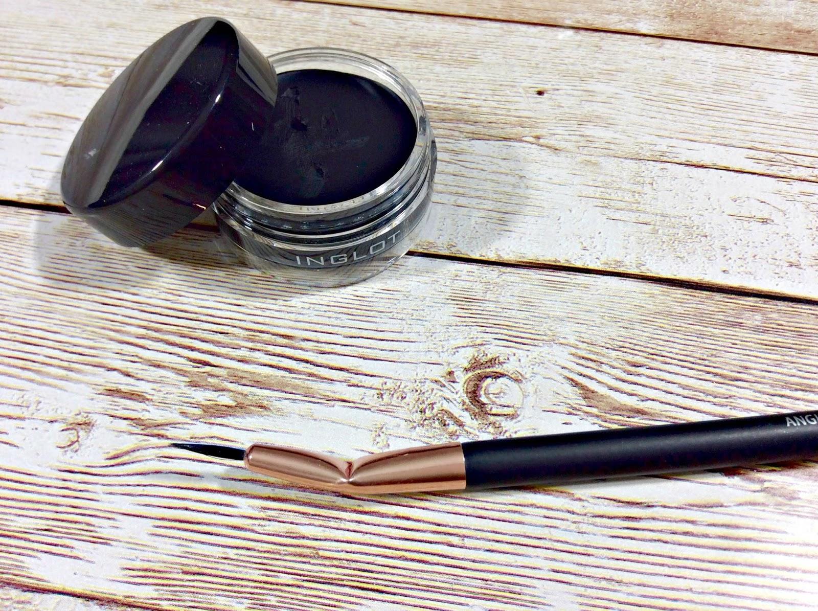 Inglot Gel Liner Primark Angled Bent Liner Brush