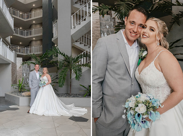 Bride and Groom portraits after First Look