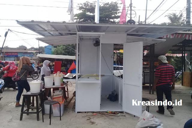 Jual Both Semi Kontainer Kecil di Jakarta, Murah dan Berkualitas