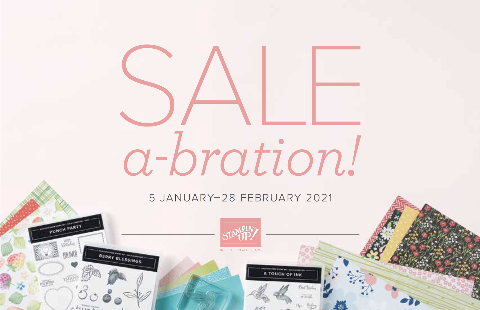 January-February 2021 Sale-A-bration Brochure