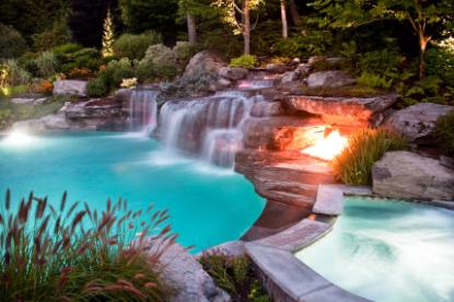 Backyard Landscape Design Ideas With Pool (Places Ideas - www.places-ideas.com)