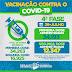 Serrinha aplicou 1ª dose de vacina contra Covid em mais de 57% da população adulta