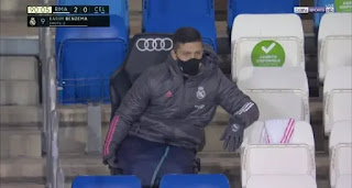 Madrid fans feel sorry for outcast Luka Jovic after his pitty look in Celta win