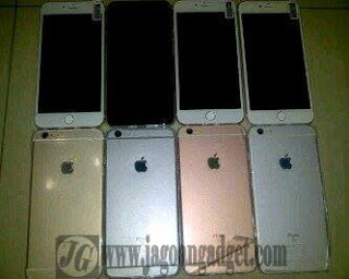 Pilihan warna iPhone 6S HDC space gray, silver, gold dan rose gold