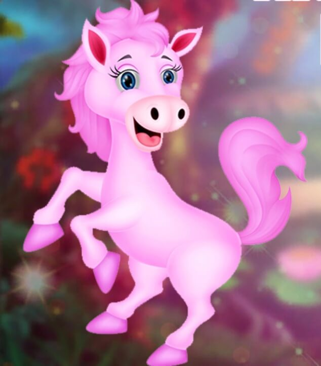 Games4King Happy Pink Horse Escape