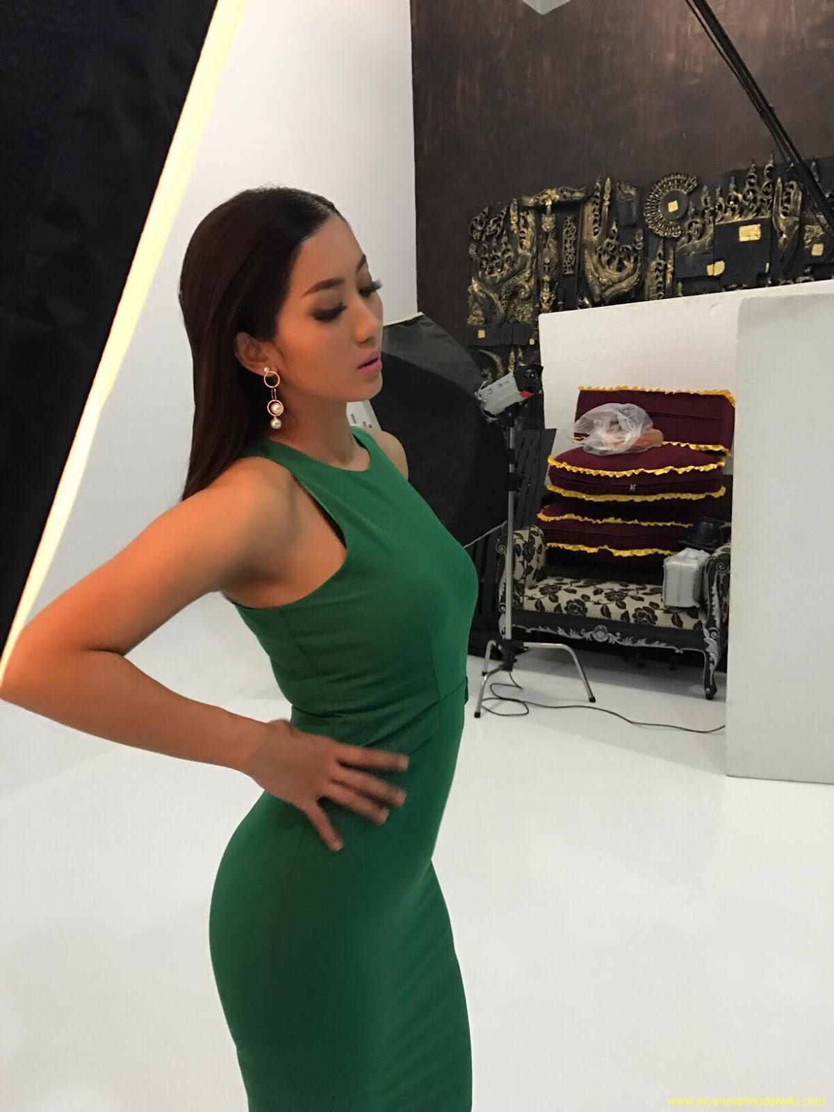 Super Model Lu Lu Aung TVC Photoshoot Behind The Scenes