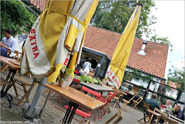 Terrazas del Restaurante De Vergulden Eenhoorn en Amsterdam