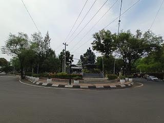akses menuju taman