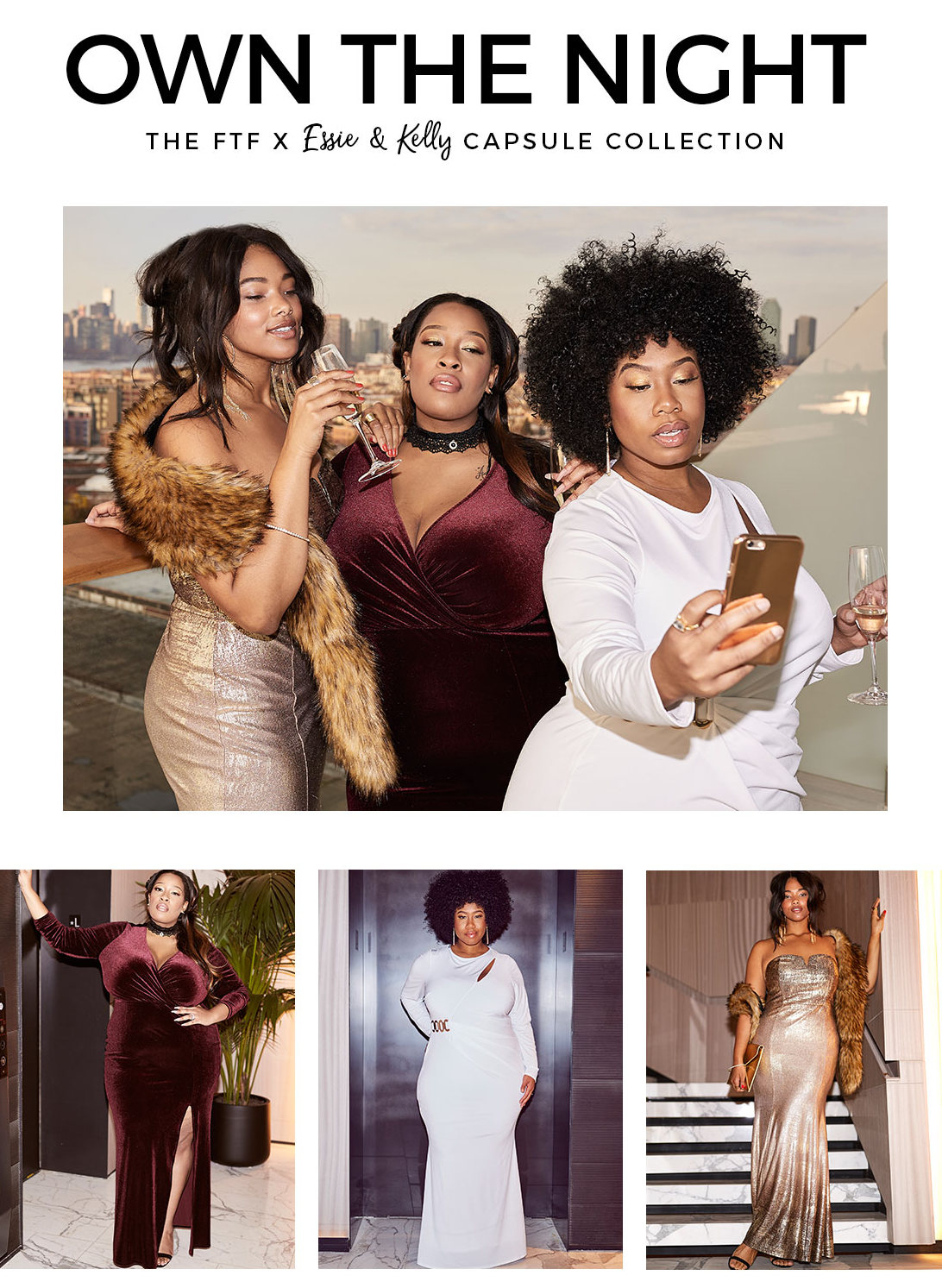 Fashion To Figure plus size holiday glam