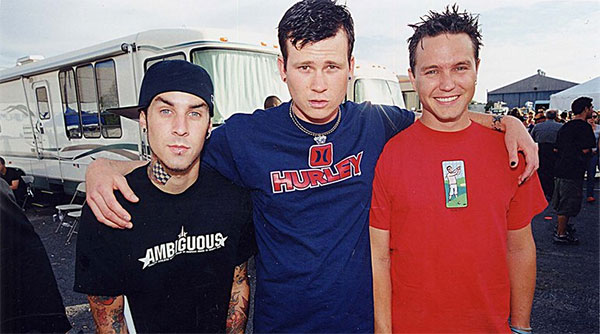 blink-182's first show ever with Travis Barker