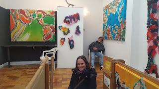 Obra de Clara Tengonoff en Kunstraum Le Girafe.