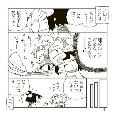 桜の樹の下には死体が埋まっている? という漫画その4