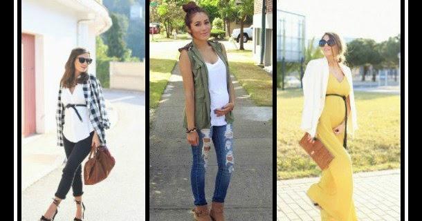 11 Υπέροχα outfits για εγκύους για να εντυπωσιάσεις!  0a814f61573