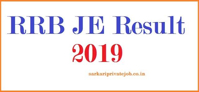RRB JE Result 2019-Sarkari Result