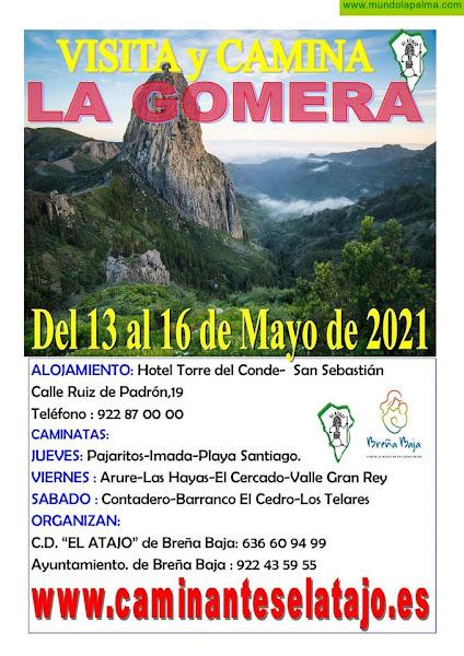 EL ATAJO: Se cumplen 700 Caminatas en La Gomera