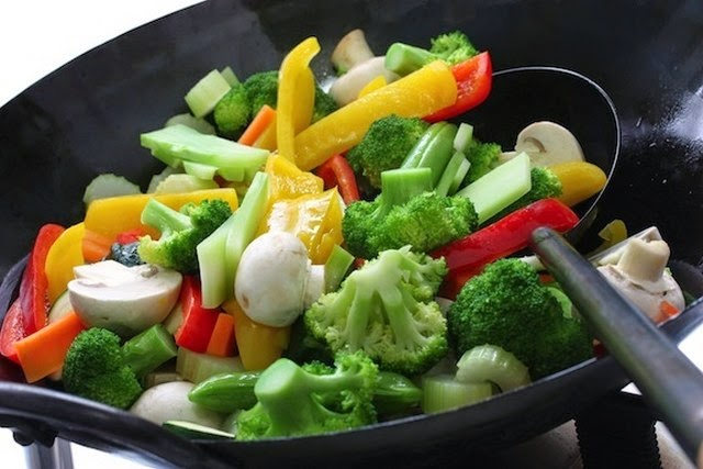 Stir fried Mixed Vegetables