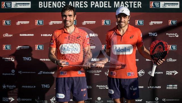 Finalizó el Buenos Aires Padel Master, con enorme éxito de convocatoria y con la coronación de los Nº1, Belasteguín-Lima
