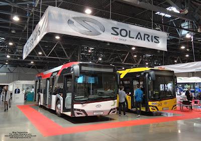 Solaris Urbino 12 Hybrid i Solaris Urbino 12, SilesiaKOMUNIKACJA 2019