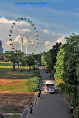 Singapore Flyer, Gardens by the Bay, Singapore