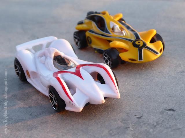 MACH 6 / X Racer Car - SPEED RACER - HotWheels  (METEORO - SPEED RACER - MACH Go Go Go)