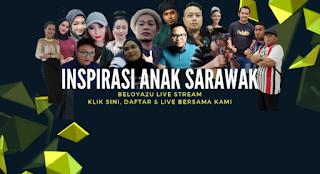 live streaming sarawak
