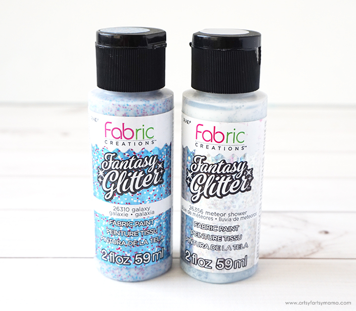 Fabric Creations Fantasy Glitter Paints