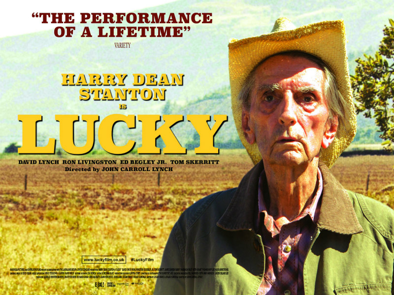 lucky film poster