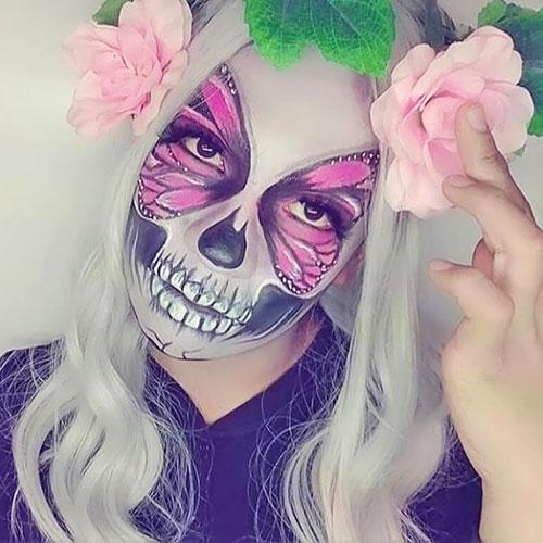 makeup de calavera