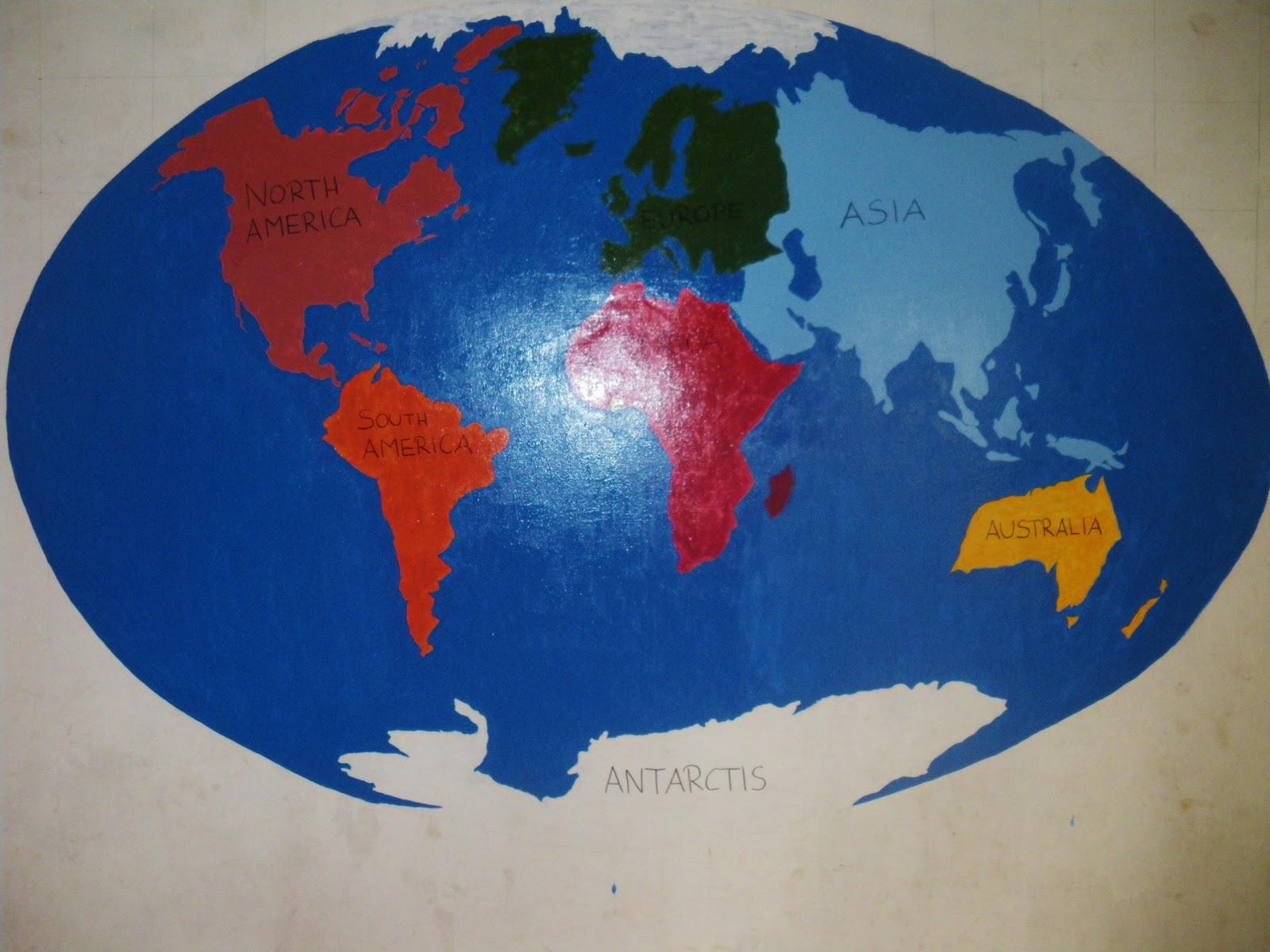 kontinente der welt