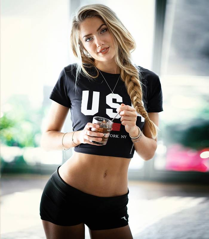 Alica Schmidt, German Female Athletes hot runners and model