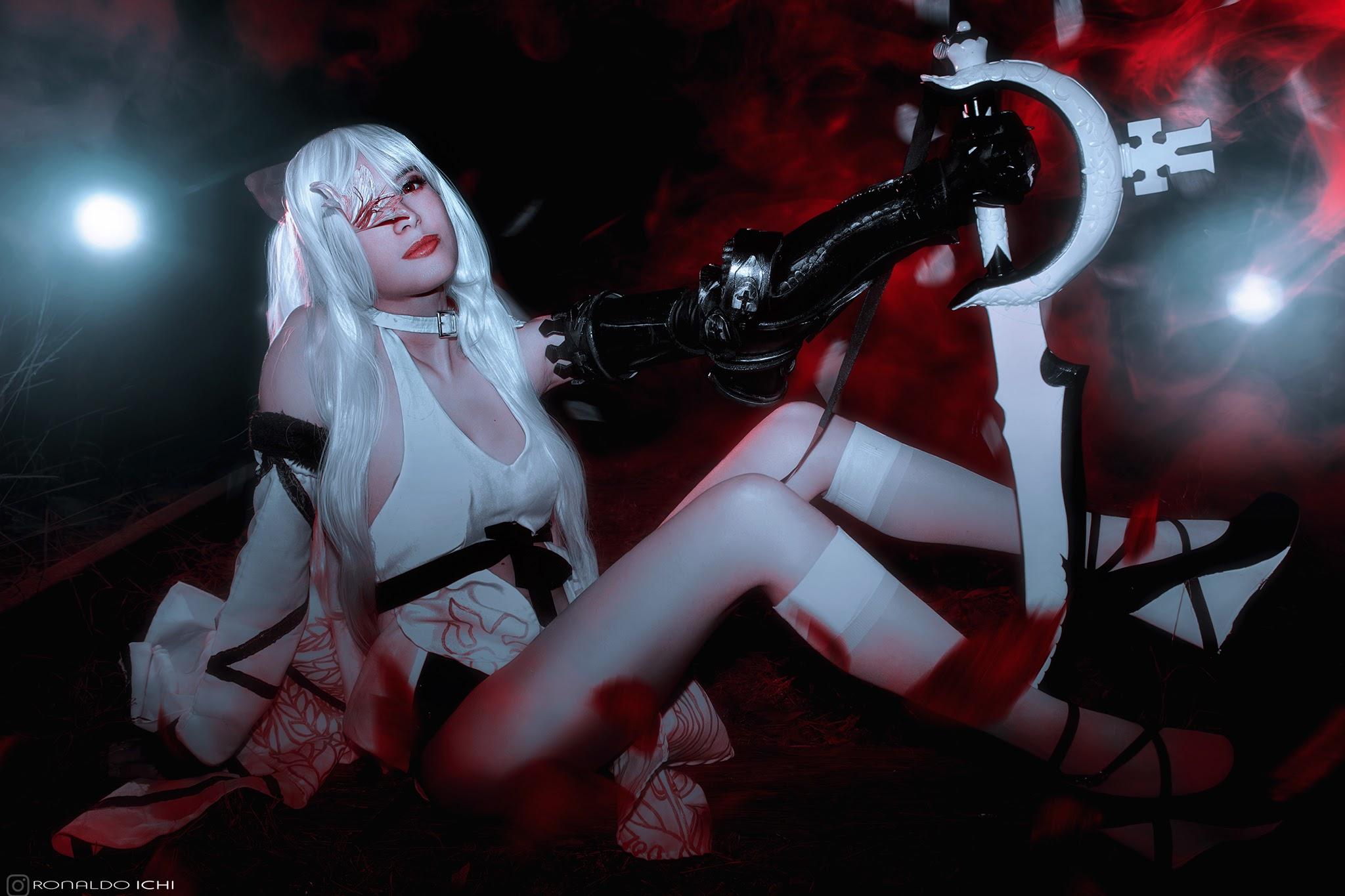 Cosplay Zero Drakengard 3, cosplayer Rizzy, photography Ronaldo Ichi