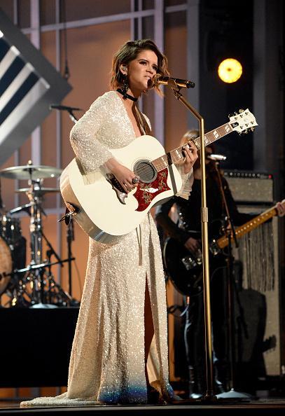 Maren Morris wore Randi Rahm CMA