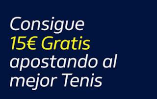 William Hill 15€ Gratis Tenis 16 septiembre 2019