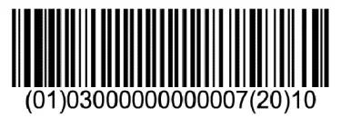 codes barres