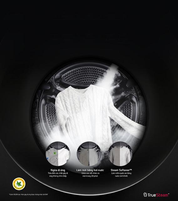 True Steam - công nghệ độc quyền được cả toàn cầu săn lùng của LG
