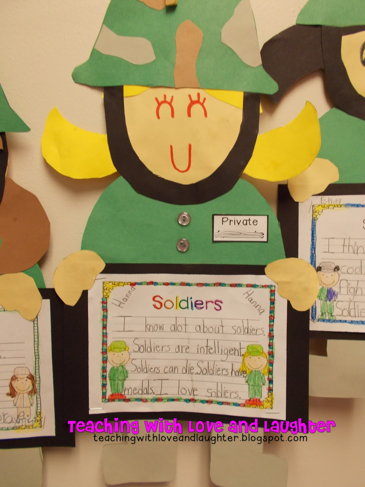 Teaching With Love And Laughter Veterans Day And Thanksgiving