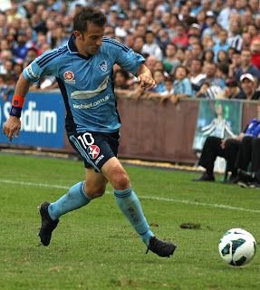 Del Piero played for Sydney FC in Australia after ending his time at Juventus in 2012