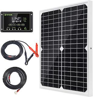 Solar Panel Kit 20W 12V