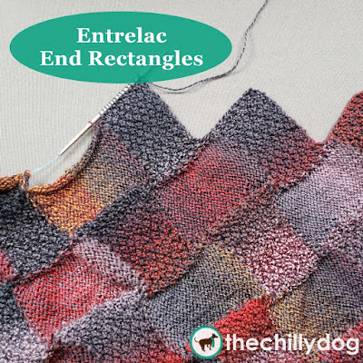 Entrelac Knitting Video Tutorial - End Rectangles: Learn how to bind off an entrelac piece with end rectangles to create a decorative, zig-zagged edge.