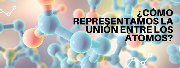 ▷ ¿Cómo representamos la unión entre átomos? 🔥